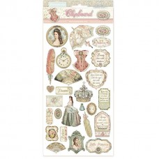 Stamperia - Princess - Chipboard
