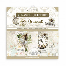 Stamperia - Romantic Journal - 8x8 Scrapbooking Pad
