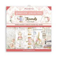 Stamperia - Romantic Threads - 12x12 Scrapbooking Pad