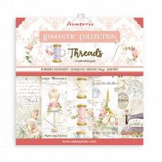 Stamperia - Romantic Threads - 8x8 Scrapbooking Pad