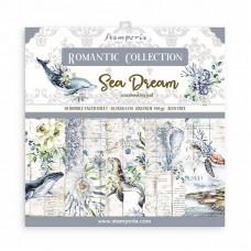 Stamperia - Romantic Sea Dream - 12x12 Scrapbooking Pad