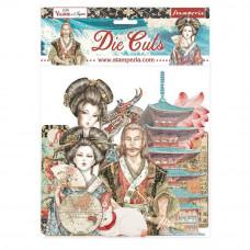 Stamperia - Sir Vagabond In Japan - Assorted Die Cuts