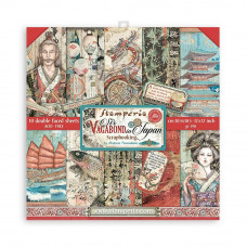 Stamperia - Sir Vagabond In Japan - Double Face (12×12) Scrapbooking Pad