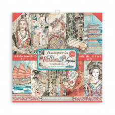 Stamperia - Sir Vagabond In Japan - (6×6) Double Face Scrapbooking Pad