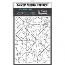 Stamperia - Sir Vagabond - Thick Stencil - Cracks