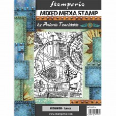Stamperia - Sir Vagabond - Mechanism Stamp