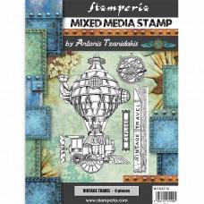 Stamperia - Sir Vagabond - Vintage Travel Stamp