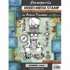 Stamperia - Sir Vagabond - Steampunk Stamp