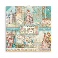 Stamperia - Sleeping Beauty - Mini Scrapbooking Pad - 8x8