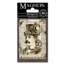 Stamperia - Voyages Fantastiques - Magnet - Man