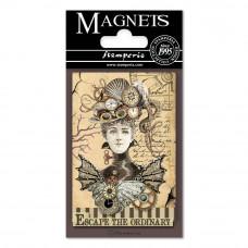 Stamperia - Voyages Fantastiques - Magnet - Woman