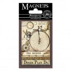 Stamperia - Voyages Fantastiques - Magnet - Bicycle