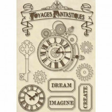 Stamperia - Voyages Fantastiques - Wooden Shapes - Frames