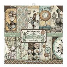 Stamperia - Voyages Fantastiques - 12x12 Scrapbooking Paper Pad