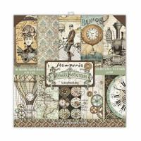 Stamperia - Voyages Fantastiques - 8x8 Scrapbooking Paper Pad
