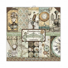 Stamperia - Voyages Fantastiques - 8x8 Scrapbooking Paper Pad