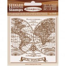 Stamperia - Voyages Fantastiques - Natural Rubber Stamp