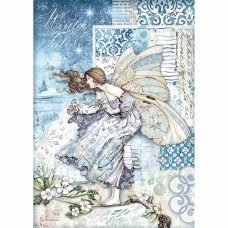 Stamperia - A4 Rice Paper - Fairy In The Wind