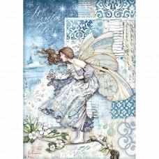 Stamperia - A4 Rice Paper - Fairy In The Wind