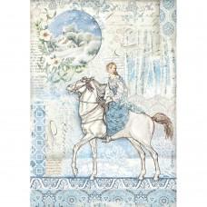 Stamperia - A4 Rice Paper - Horse