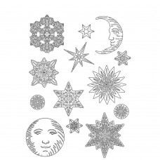 Stamperia - Soft Mould - A4 Snowflakes