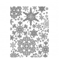 Stamperia - Soft Mould - A5 Snowflakes