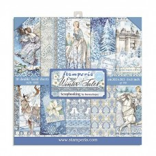 Stamperia - 8''X8'' Scrapbooking Pad -  Winter Tales - DISPATCHING WEDNESDAY 30th SEPTEMBER