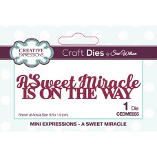 April Collection - Mini Expressions Dies - A Sweet Miracle