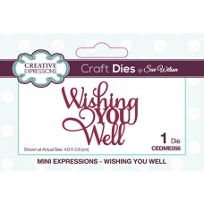 April Collection - Mini Expressions Dies - Wishing You Well