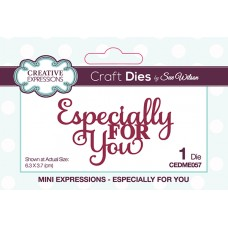 Mini Expressions Dies  - Especially For You