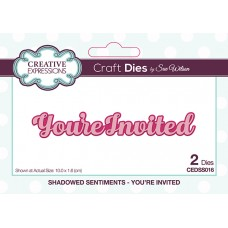 April Collection - Shadowed Sentiments Dies - You're Invited