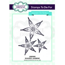 April Collection - Stamps To Die For - Shaded Jasmine