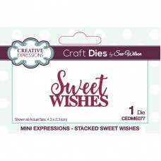 January Collection - Mini Expressions - Stacked Sweet Wishes