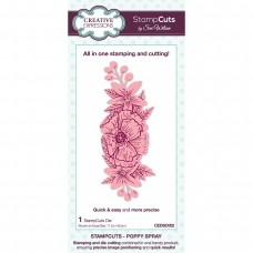 January Collection - StampCuts - Poppy Spray