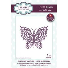Finishing Touches Collection - Lace Butterfly Die
