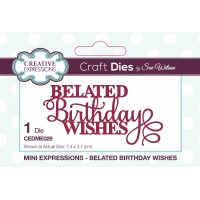 Mini Expressions - Belated Birthday Wishes - PRE ORDER