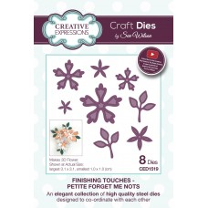 Finishing Touches Collection - Petite Forget Me Nots