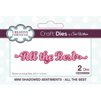 Mini Shadowed Sentiments - All The Best - PRE ORDER