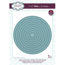 Noble Collection - Double Stitched Circles