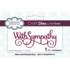 October Collection - Mini Expressions - With Sympathy