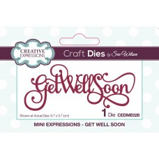 October Collection - Mini Expressions - Get Well Soon