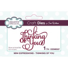 October Collection - Mini Expressions - Thinking Of You