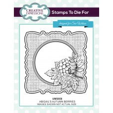 October Collection - Abigail's Autumn Berries Stamp