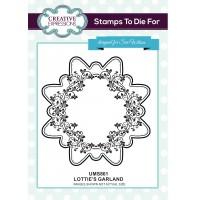 Lottie's Garland Stamp