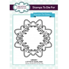 Lottie's Garland Stamp