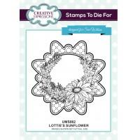Lottie's Sunflower Stamp
