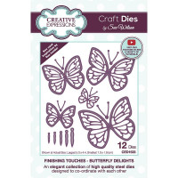 April Collection - Finishing Touches - Butterfly Delights Craft Die