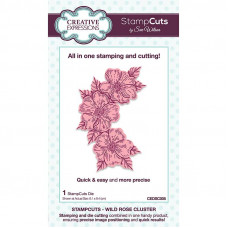 April Collection - StampCuts - Wild Rose Cluster