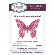 April Collection - StampCuts - Butterfly