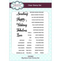 Big Ideas Clear Stamp Set